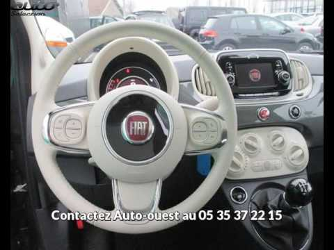 fiat 500 occasion visible m rignac pr sent e par auto ouest youtube. Black Bedroom Furniture Sets. Home Design Ideas