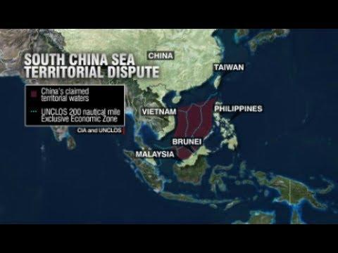 Breaking South China Sea Taiwan Vietnam Territory Military China USA warships Warnings  July 3 2017