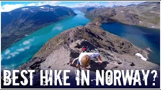 BEST HIKE IN NORWAY ? - BESSEGGEN  | twoplustwocrew