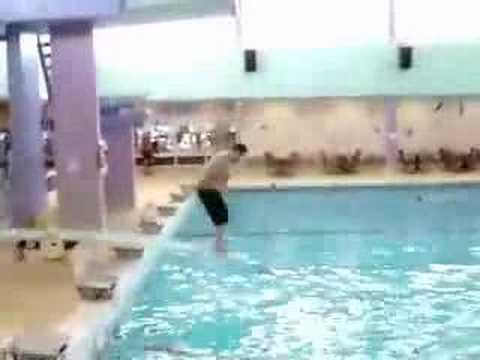 Fat Guy On Diving Board 67