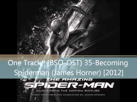 Becoming Spiderman (James Horner) mp3
