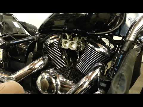 Installing Kuryakyn Hypercharger Vulcan 900 Part 1 of 2