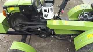 Gambar cover Доработка навески и замена гидрораспределителя на тракторный Р-80 на Зубр 12 лошадок