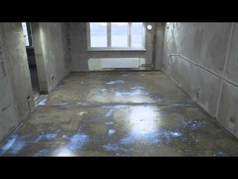 видео: Как быстро выровнять пол в квартире? Совет №12 от weber-vetonit.ru