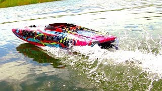 "TRAXXAS M41 40"" Speed Boat THRiLL RiDE - 6S Lipo POWER! 