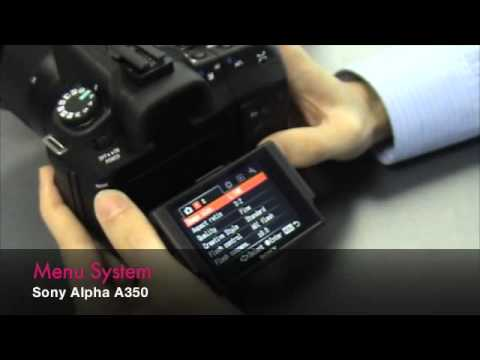 Sony Alpha DSLR-A350 – First Impression Video by Digitalrev