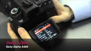 Sony Alpha DSLR-A350 - First Impression Video by Digitalrev