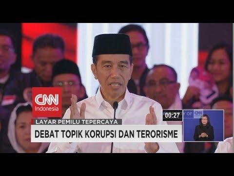 Debat & Saling Bertanya Antar Kandidat Soal Korupsi & Terorisme - Segmen 5/6