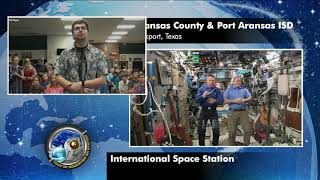 Expedition 55 Inflight Interview - Aransas County ISD and Port Aransas ISD - April 27, 2018