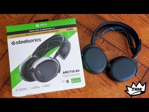 Steel Series Arctis 9x Wireless Xbox One Headset Review!!