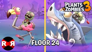 Plants vs Zombies 3 - FLOOR 24 - iOS / Android Gameplay