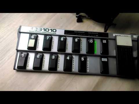 Behringer Fcb 1010 expression pedal trick !