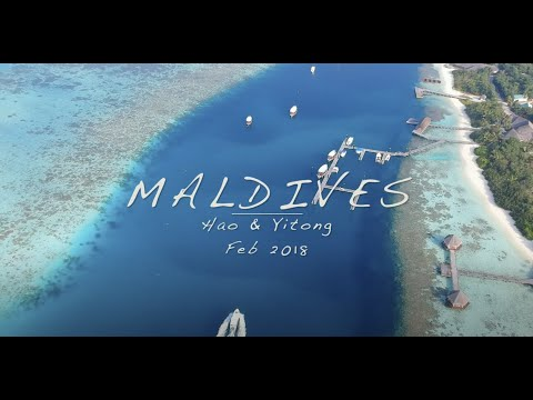 Maldives Hideaway Resort travel video 2018 gopro/drone