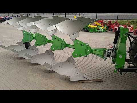 видео: Купить Плуг 4-х корпусный оборотный 4х35 bomet leo u063/3+1 /Польша/