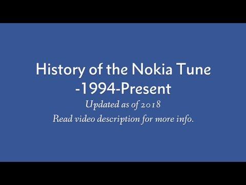 Nokia Tune Evolution (1994-Present)