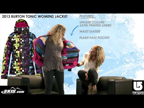 2013 Burton Tonic Jacket Womens Review By Skis