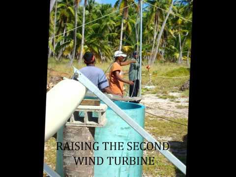 Utrik Atoll Solar-Wind-Water Installation