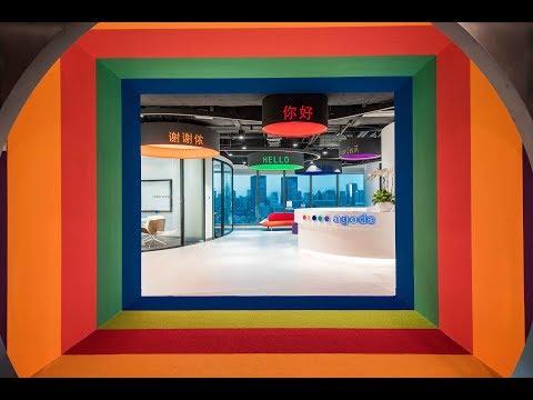 1 Minute Office Tour: Agoda Shanghai Huangpu 1分钟办公室预览 – 安可达黄浦办公室