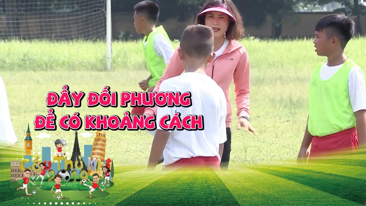 Cựu tuyển thủ Ngọc Châm và bài học để thoát khỏi vòng vây đối thủ | Cầu Thủ Nhí 2019