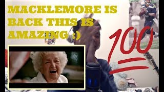 MACKLEMORE FEAT SKYLAR GREY - GLORIOUS OFFICIAL MUSIC VIDEO Reaction
