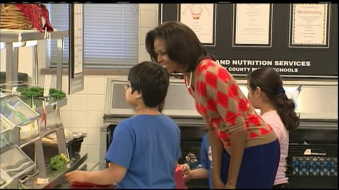 Trump Targets Michelle Obama's School Lunch Program on Her ...
