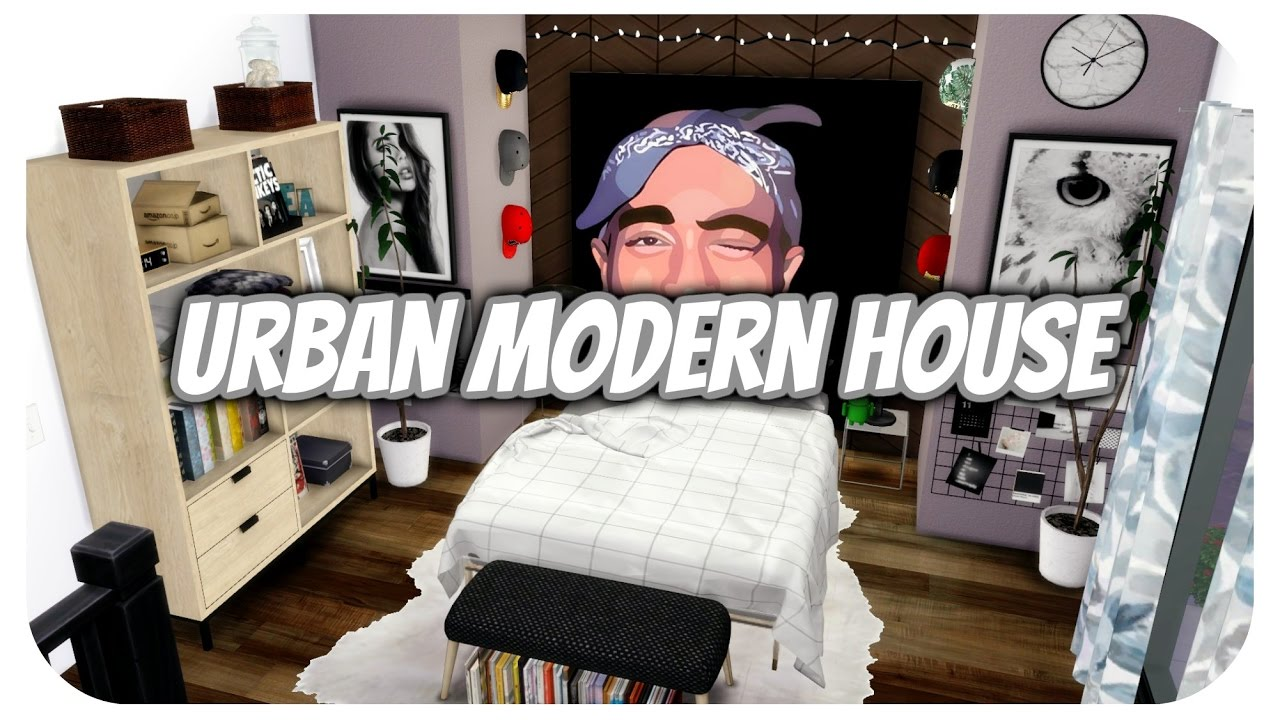 urban house furniture. The Sims 4 | Apartment Build: New York Urban Modern House W/CC LINKS!! Furniture