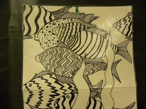Kids Can Draw: Grade 2 Fish Patterns