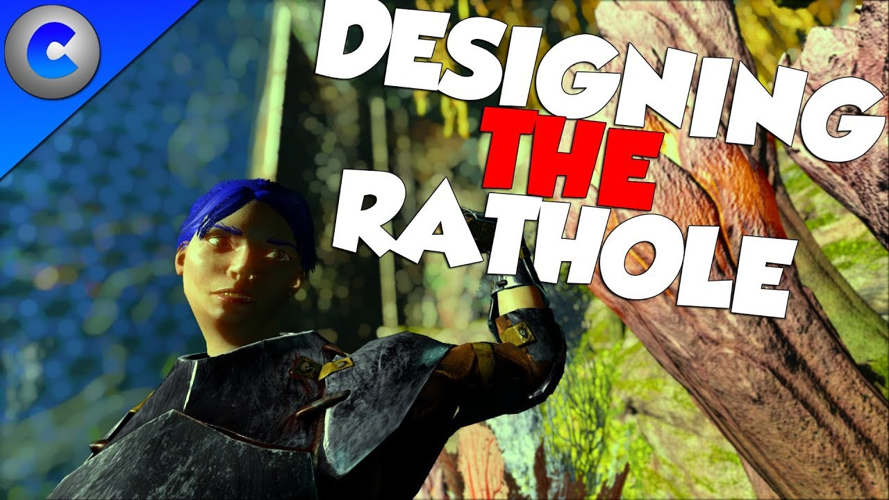DESIGNING THE NEW RATHOLE!!! - ARK Survival Evolved thumbnail