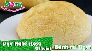 Cách làm Bánh mì bột gạo Việt Nam da cực giòn - da Cọp (Tiger Bread)