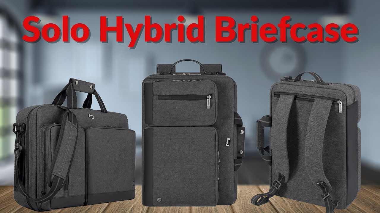 The Solo Hybrid Briefcase - YouTube Tech Guy - YouTube 3b6a8d3e2f504