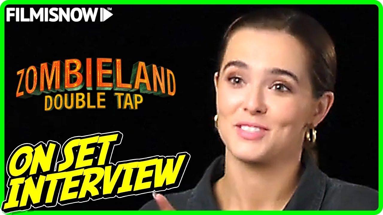 Zombieland Double Tap Zoey Deutch Madison On Set Interview