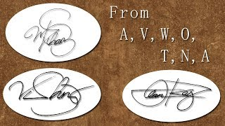 How to Design your Own Impressive Signature Real Easy!