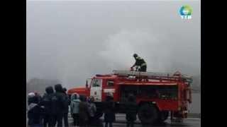 школьники Фокино посетили специальную пожарную часть №4
