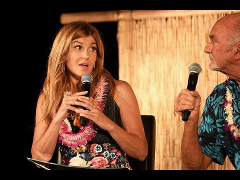 Connie Britton In Conversation at 2017 Maui Film Festival