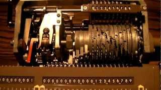 Mechanical  computer (BUSICOM HL-21)