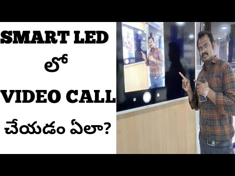 HOW TO MAKE VIDEO CALL ON LED TV IN TELUGU 2019 || TELLY BEAN ON SMART TV FOR VIDEO CALL 2019