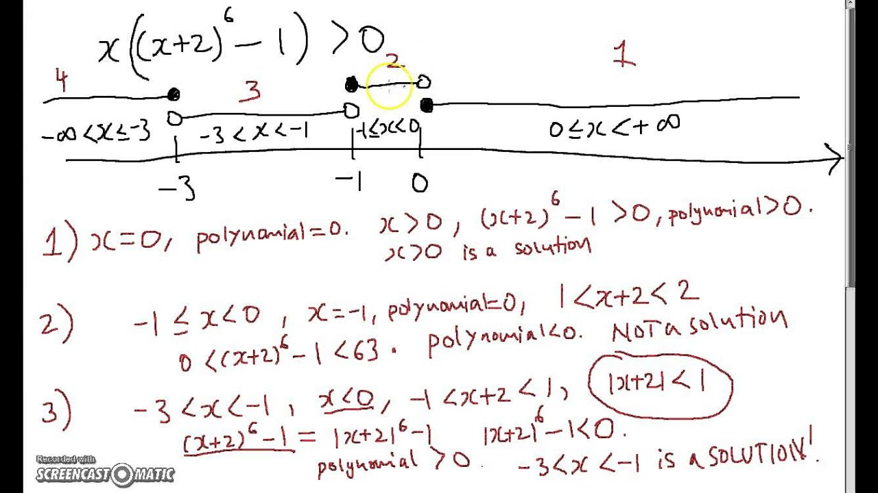 IB HL Mathematics Polynomial Inequalities YouTube – Polynomial Inequalities Worksheet