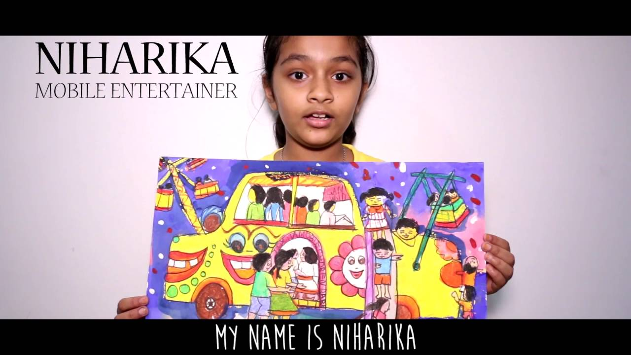 Niharika Toyota Dream Car Art Contest 2016 Youtube