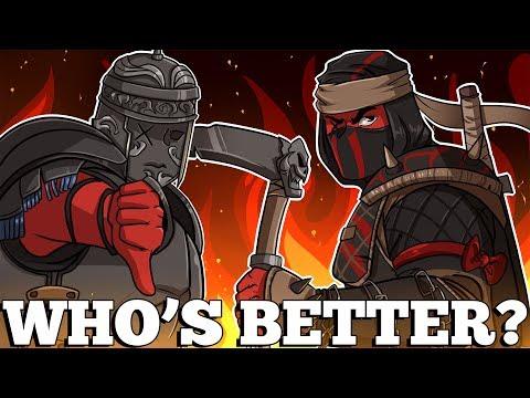 For Honor | WHO'S BETTER? CENTURION OR SHINOBI (New Characters | Season 2)