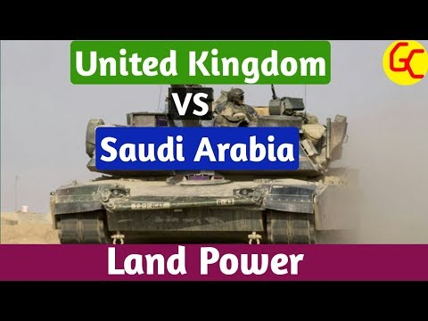 United Kingdom Vs Saudi Arabia Land Power Comparison