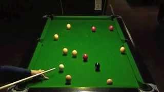 UK 8 ball, Dry Break & Run, World Rules, Steve McCann (20101219)