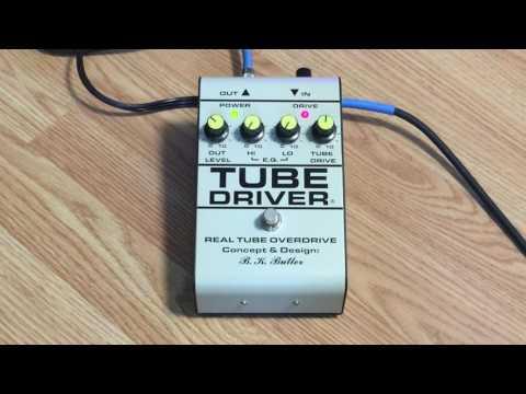 BK Butler Tube Driver Demo