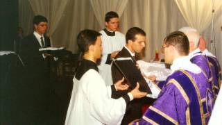 Pe Possidente - Pregação na recepção de batinas - Bom Jesus 17-03-2001