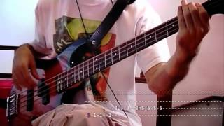Dani California - [Red Hot Chili Peppers] - Bass Cover With Video Tabs
