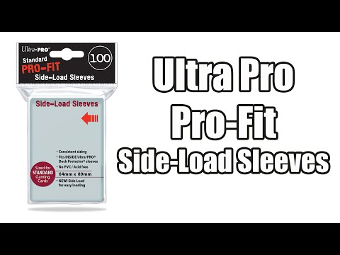 Ultra Pro Perfect Fit TOP LOAD Small Yugioh Sized  82713