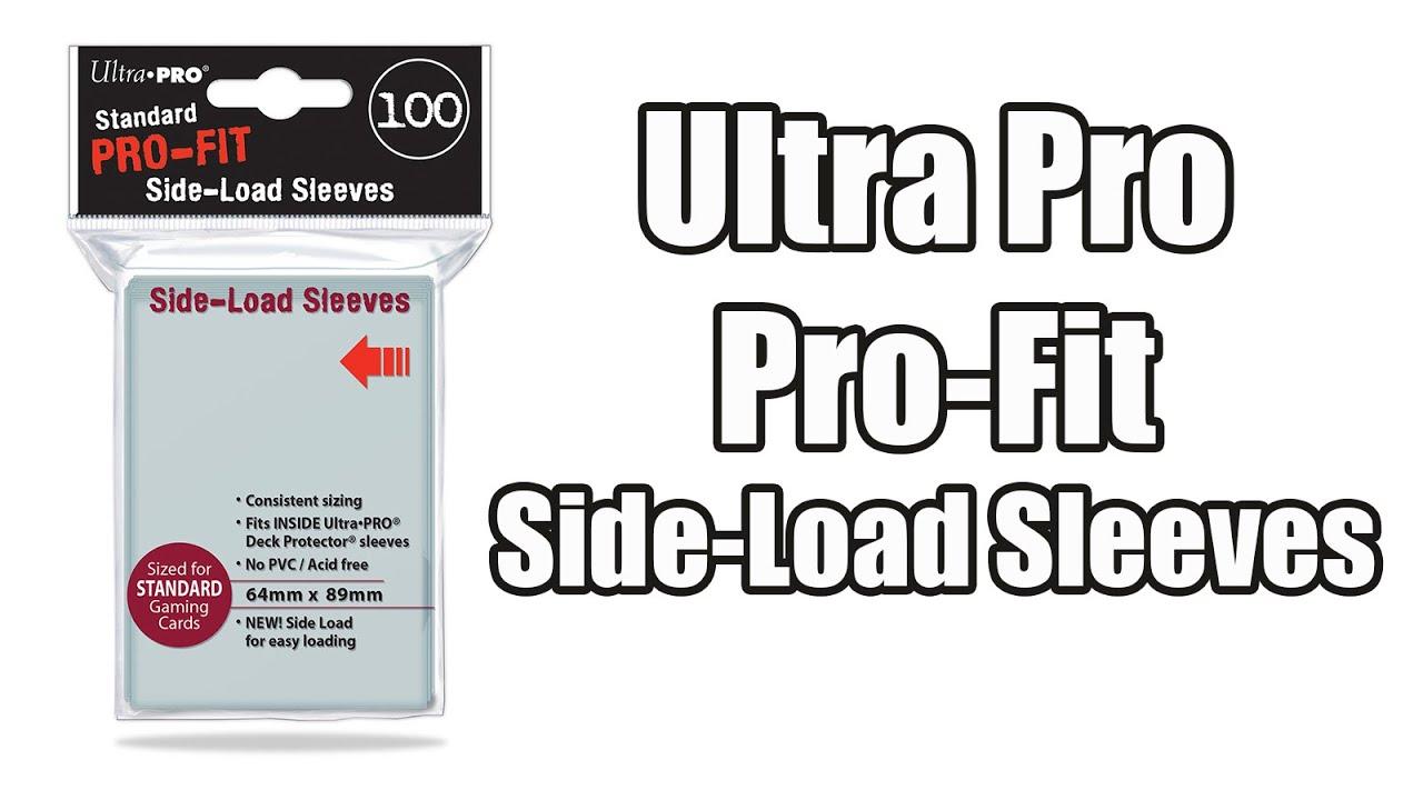 Ultra pro pro fit side load sleeves full hd youtube ultra pro pro fit side load sleeves full hd biocorpaavc