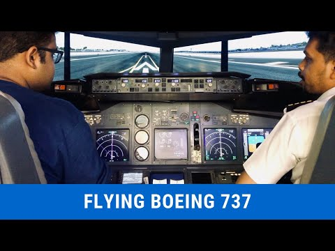 Flying Boeing 737-800 NG | Things to do in Bangalore