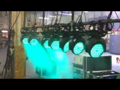 Demo: Martin Mac 301 LED