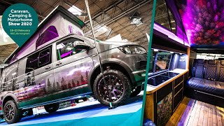 MUST SEE VW Campers At The NEC Caravan, Camping And Motorhome Show 2020... Lost In Europe //201