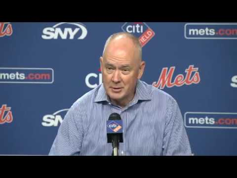 "Mets GM Sandy Alderson on Robert Gsellman's ""I don't care"" comment"